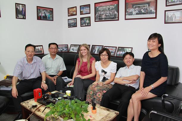 US Efficiency Exchange Director Visited EHS Academy