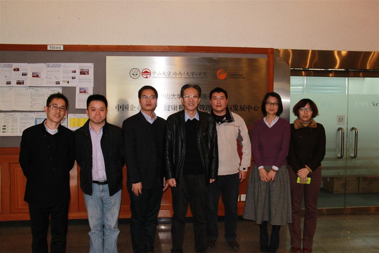 CIMC Group Management visited EHSA