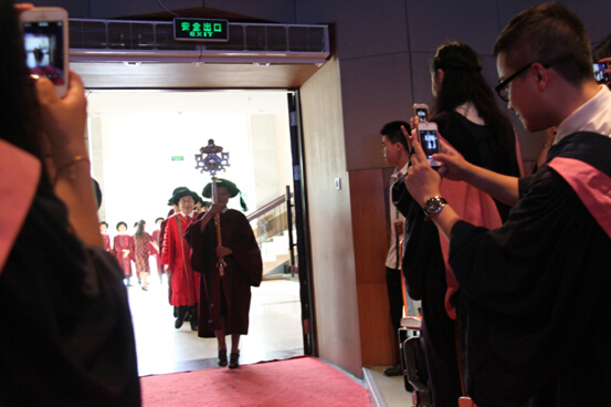 4 Students from EHSA attended the Master's Degree Ceremony