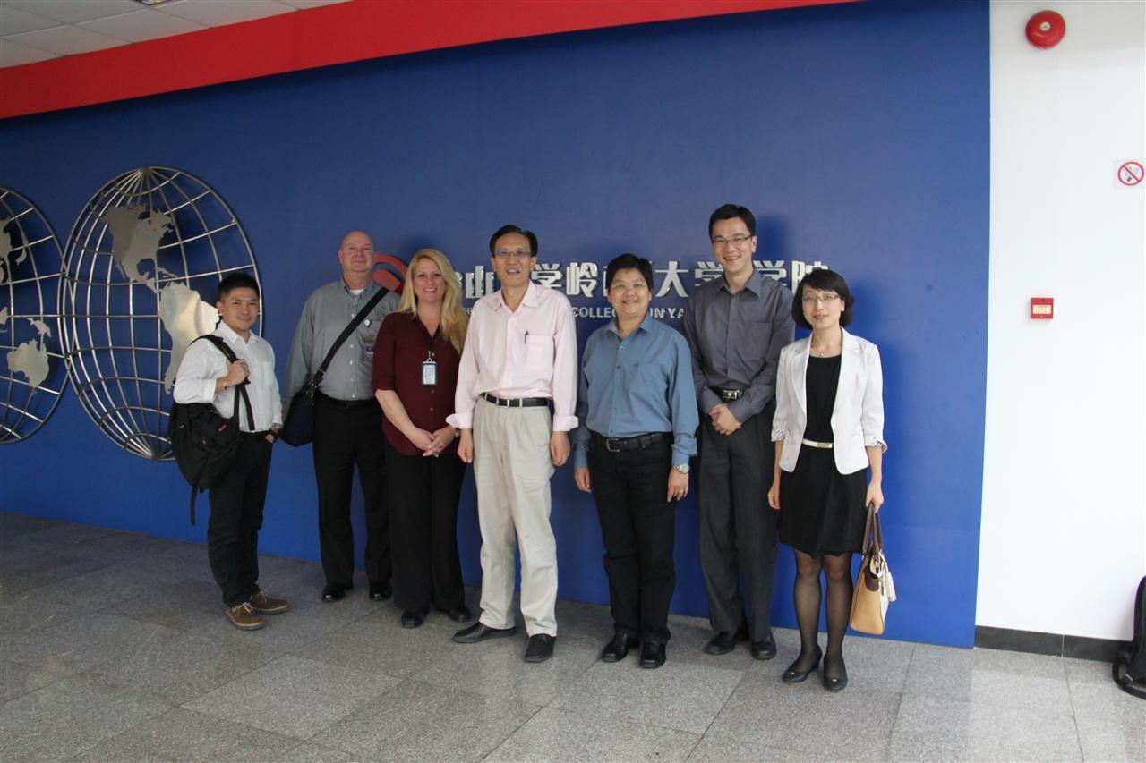 沃尔玛全球供应商发展总监到访EHS中心
