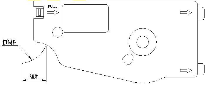 硕方线号机tp70怎么打贴纸