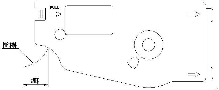 硕方线号机怎么换贴纸