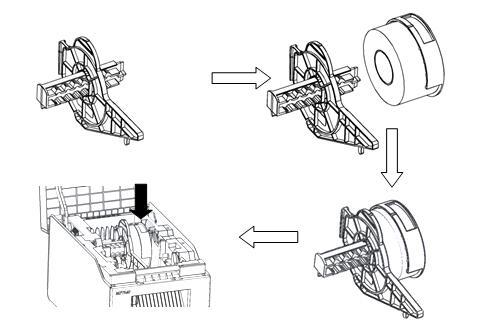 硕方MP7640标签打印机使用方法