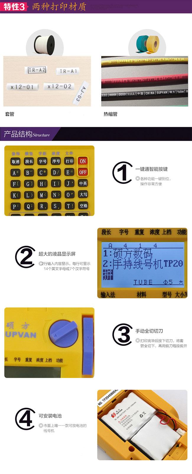 硕方手持线号机TP20