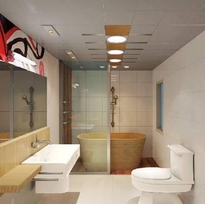 卫浴间吊顶如何清洁