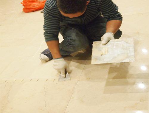 石材无缝化处理方法