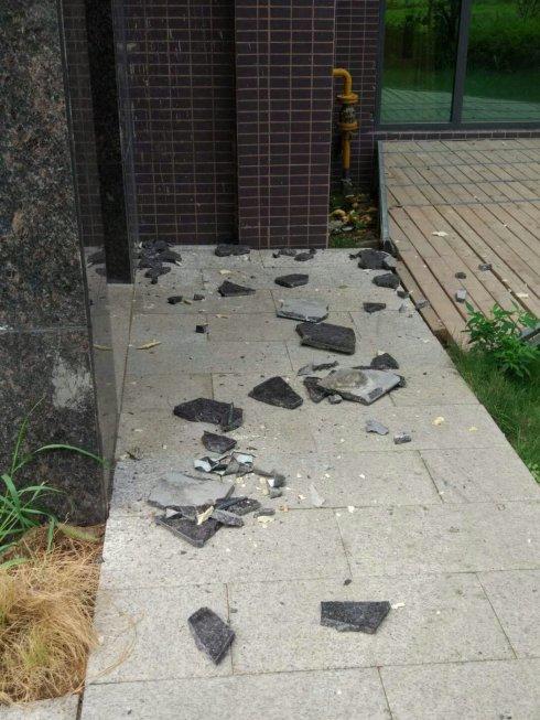 外墙墙砖脱落、空鼓的危害
