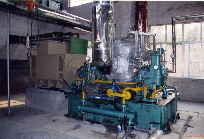 木炭烟气发电