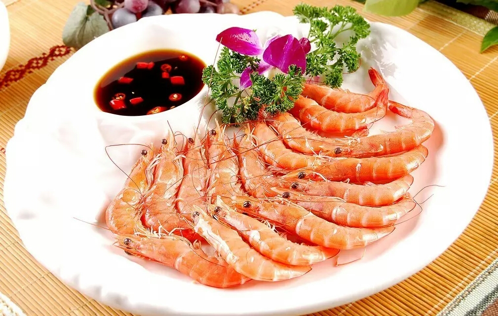 白灼基圍蝦