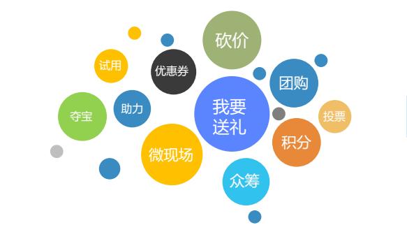微信小程序商城营销功能