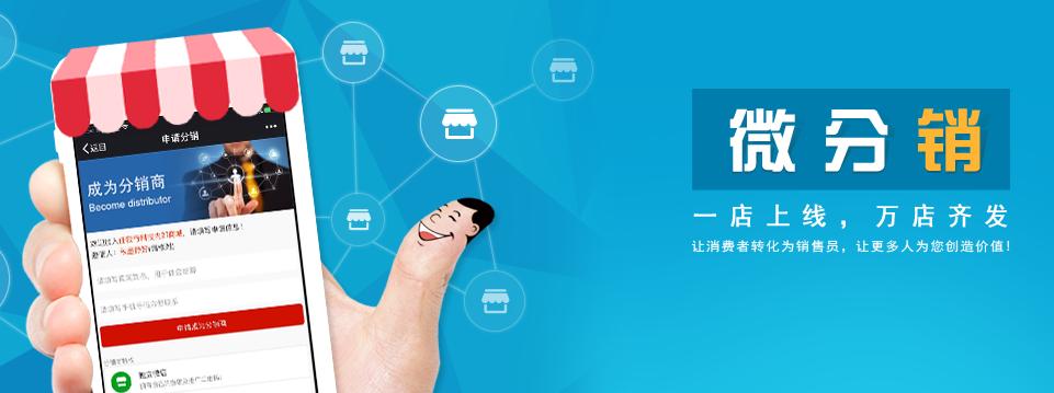 微商分销系统开发