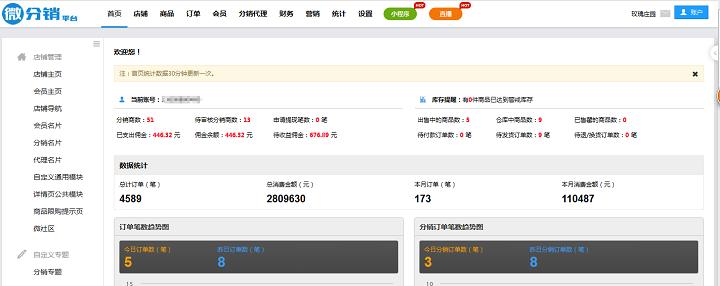 昆明吉庆玫瑰庄园管理有限公司微分销平台月销量突破11万!