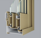 HF-ZJ80注胶隔热推拉窗