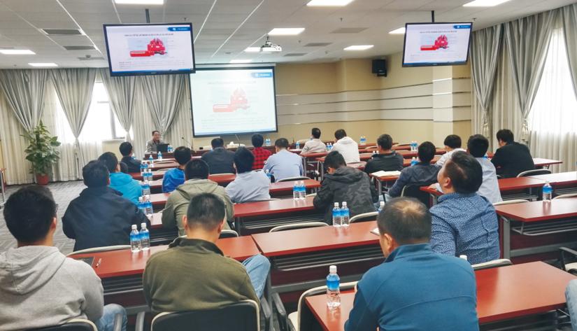 对接振华国际集团 升级制动器维保培训