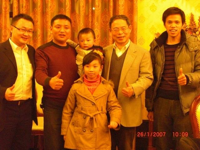 豐勝董事長拜訪萬州經銷商團隊