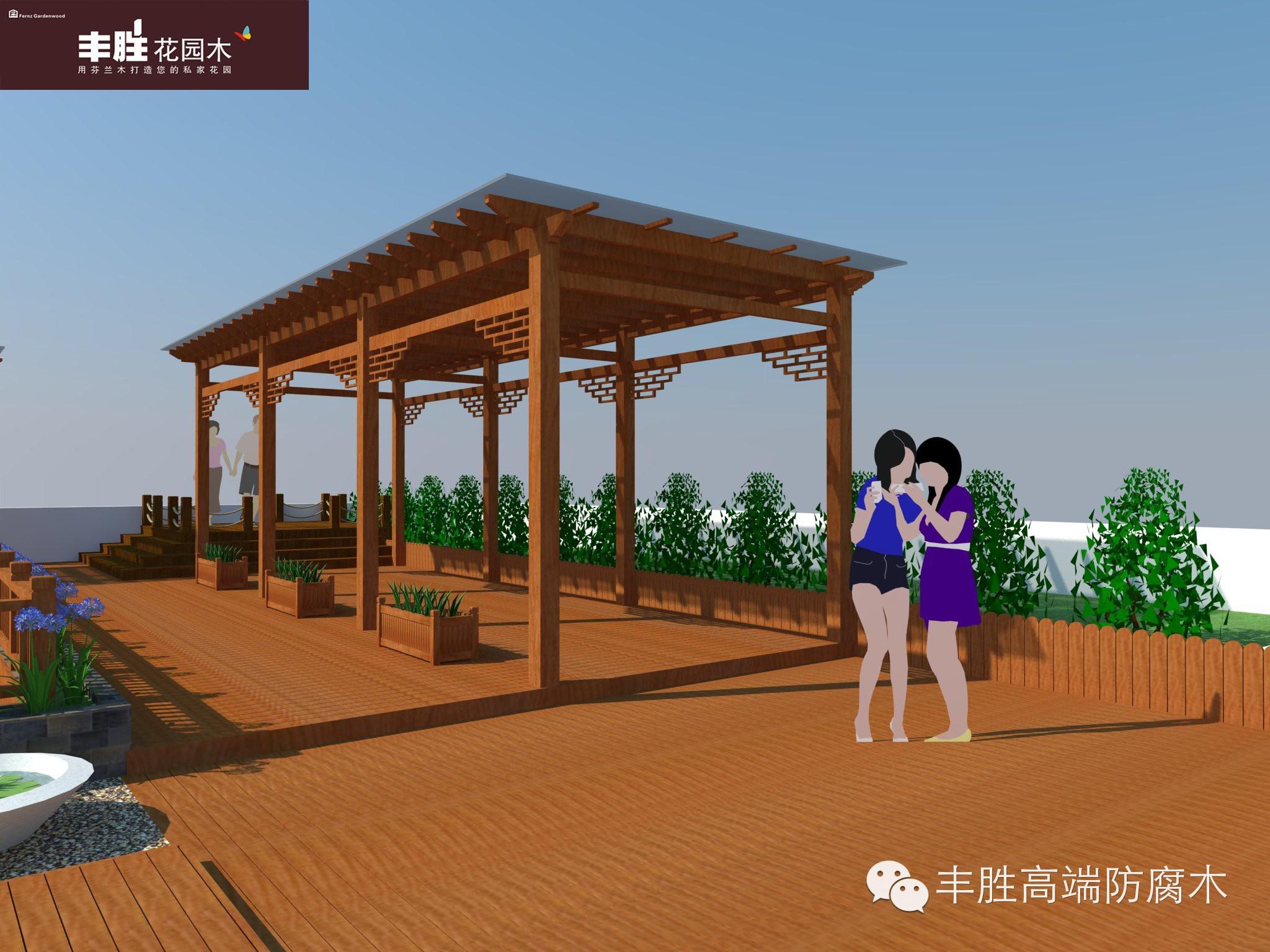 创新设计,点缀你的心灵花园 2014年丰胜最美木花园设计案例赏析 丰胜 广州 建材有限公司