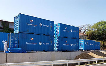 PUXIN Container Anaerobic Treatment System