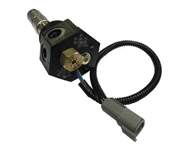 """GFI 大流量2""""内置式防碰撞电磁瓶口阀"""