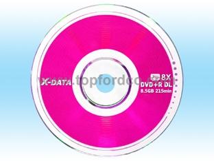 X DATA 8.5GB Dual layer