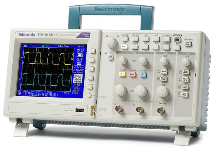 TDS1000C-EDU系列数字示波器