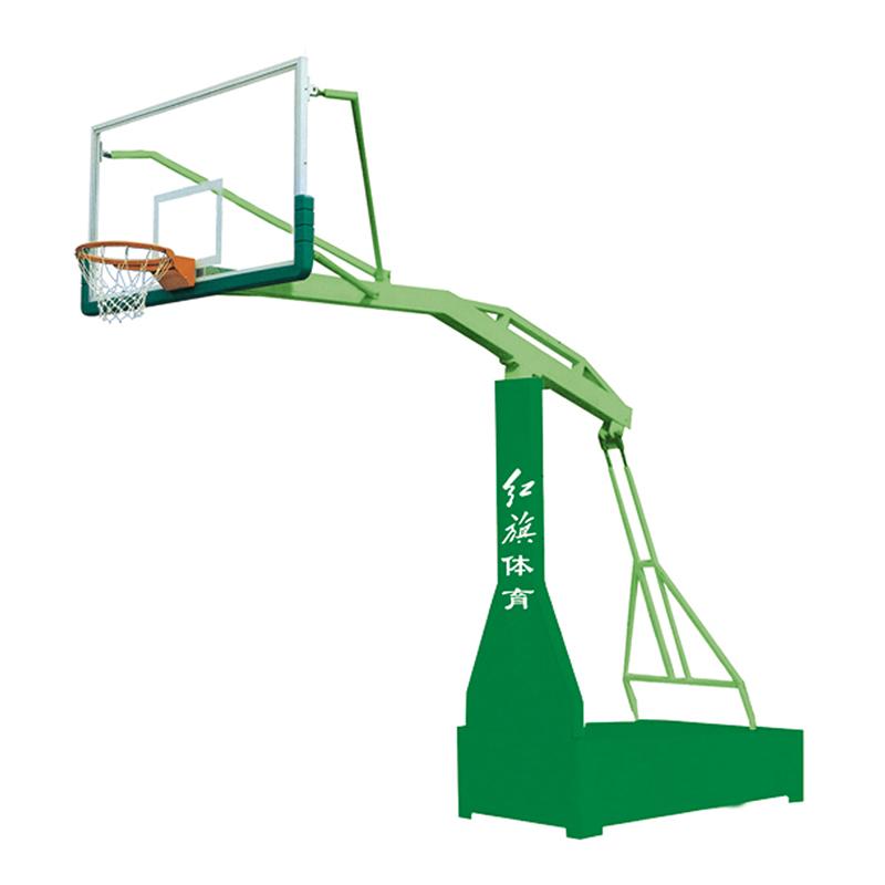 HQ-1008   平箱宽臂篮球架
