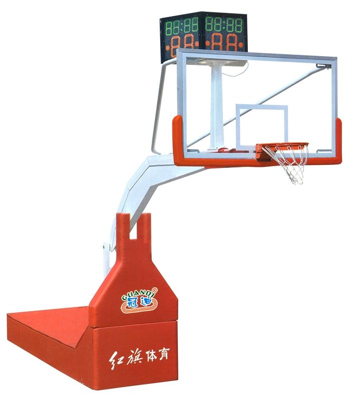HQ-1001A  比赛用电动液压篮球架