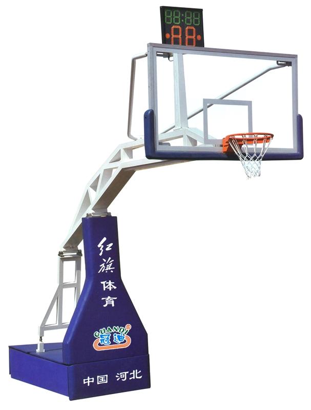 HQ-1002       比赛用电动液压篮球架