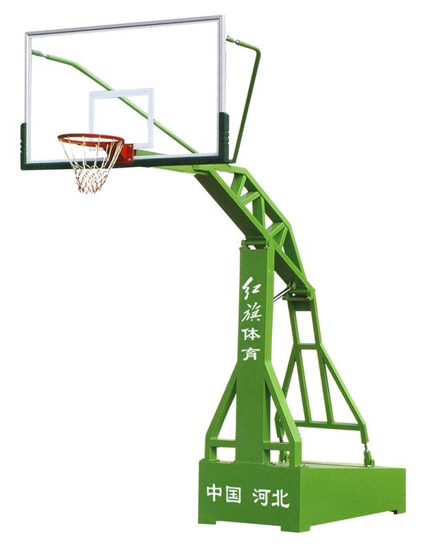 HQ-1005    平箱式仿液压篮球架