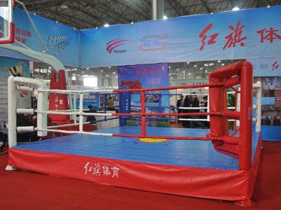 红旗体育在高教仪器会上器材展示
