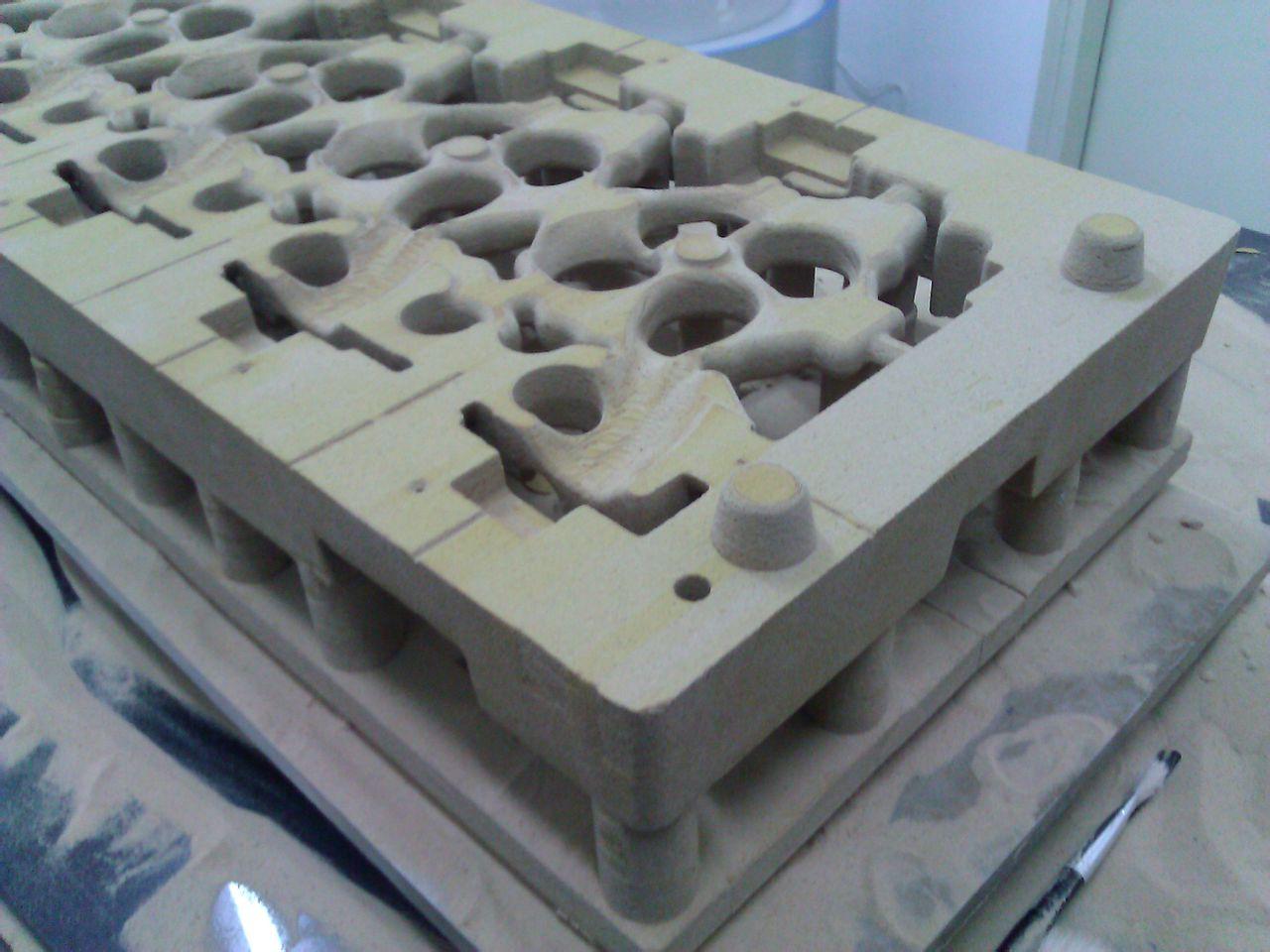 砂型三维打印机