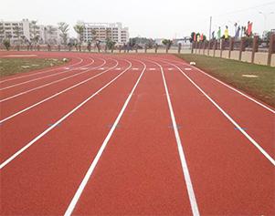 湖北省随州市洪山镇第二中学塑胶跑道