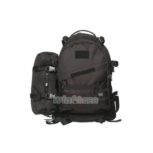 Winforce 3DAY战术攻击背包(黑色)