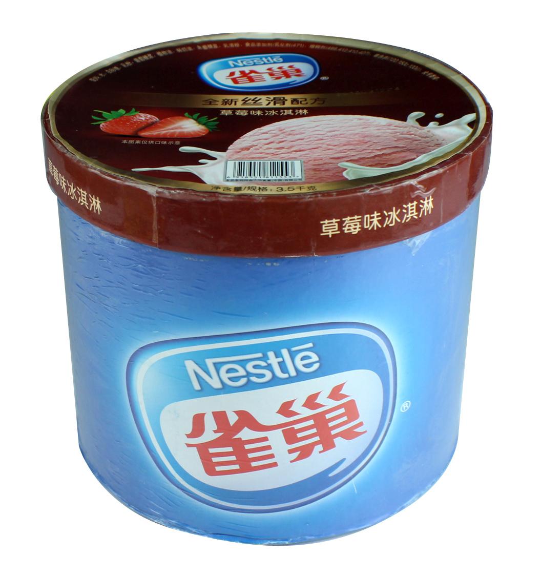 雀巢桶装冰淇淋3.5kg