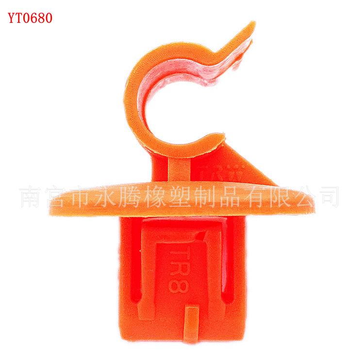 大众斯柯达机盖支撑杆卡扣 支撑杆固定卡扣 明锐 速派 昊锐汽车塑料扣