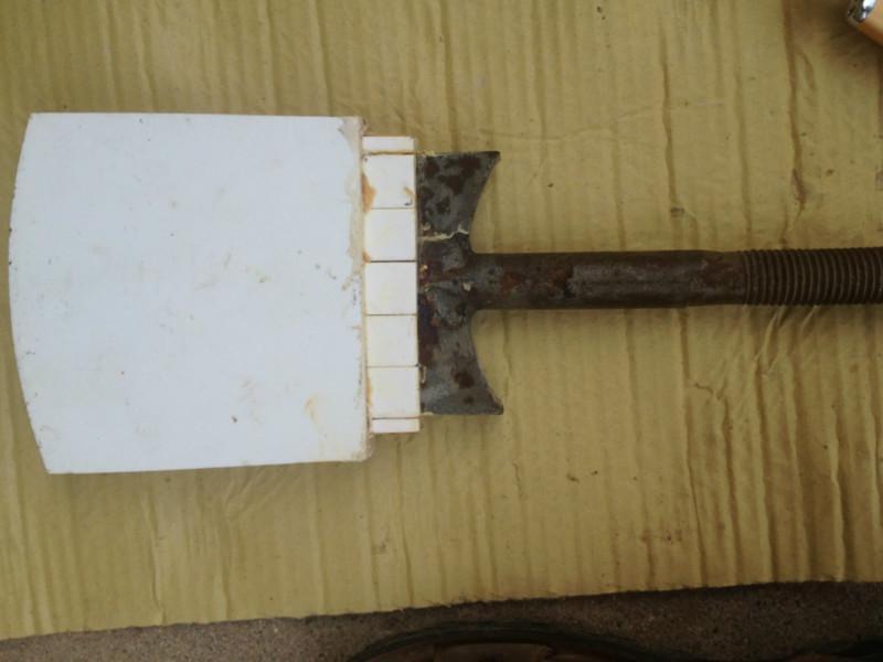 砖厂耐磨陶瓷搅拌刀 叶片