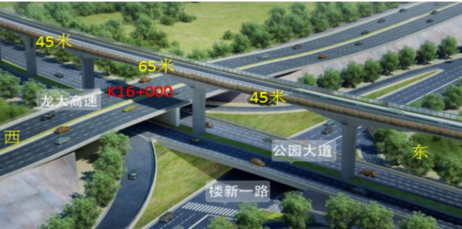 深圳地铁6号线跨龙大高速公路桥顶推施工