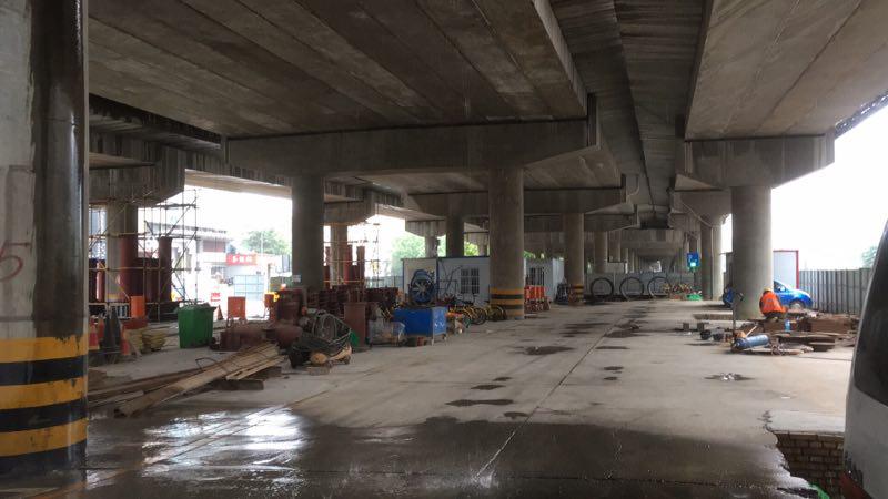 西安市昆明路快速路工程西南二环立交工程桥梁顶升工程