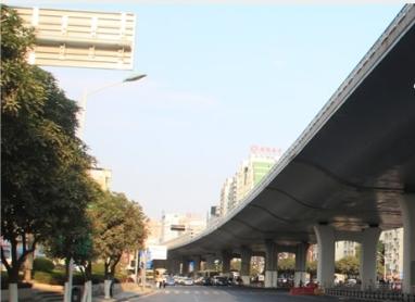 厦门市莲岳路口跨线桥顶升工程