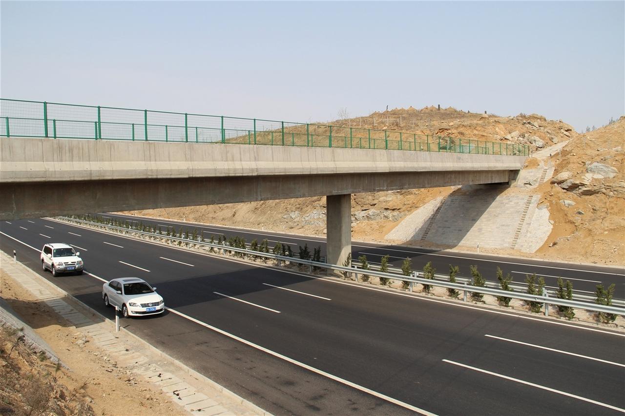 青临高速K67+769天桥顶升工程【2013-05-02】