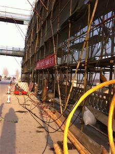 江蘇省鹽青大橋維修加固工程吊桿換索【2014】