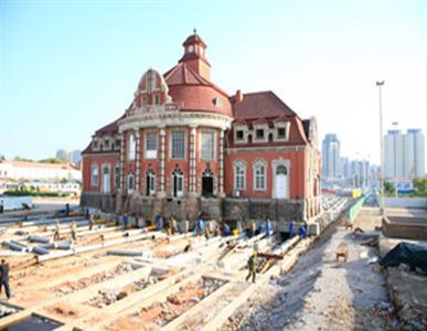 天津火车西站候车楼平移工程【2010】