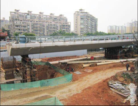 厦门市金尚路高架桥梁改造提升工程