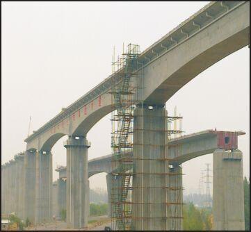 石武客专40+2×64+40m连续梁支座维修工程【2010】