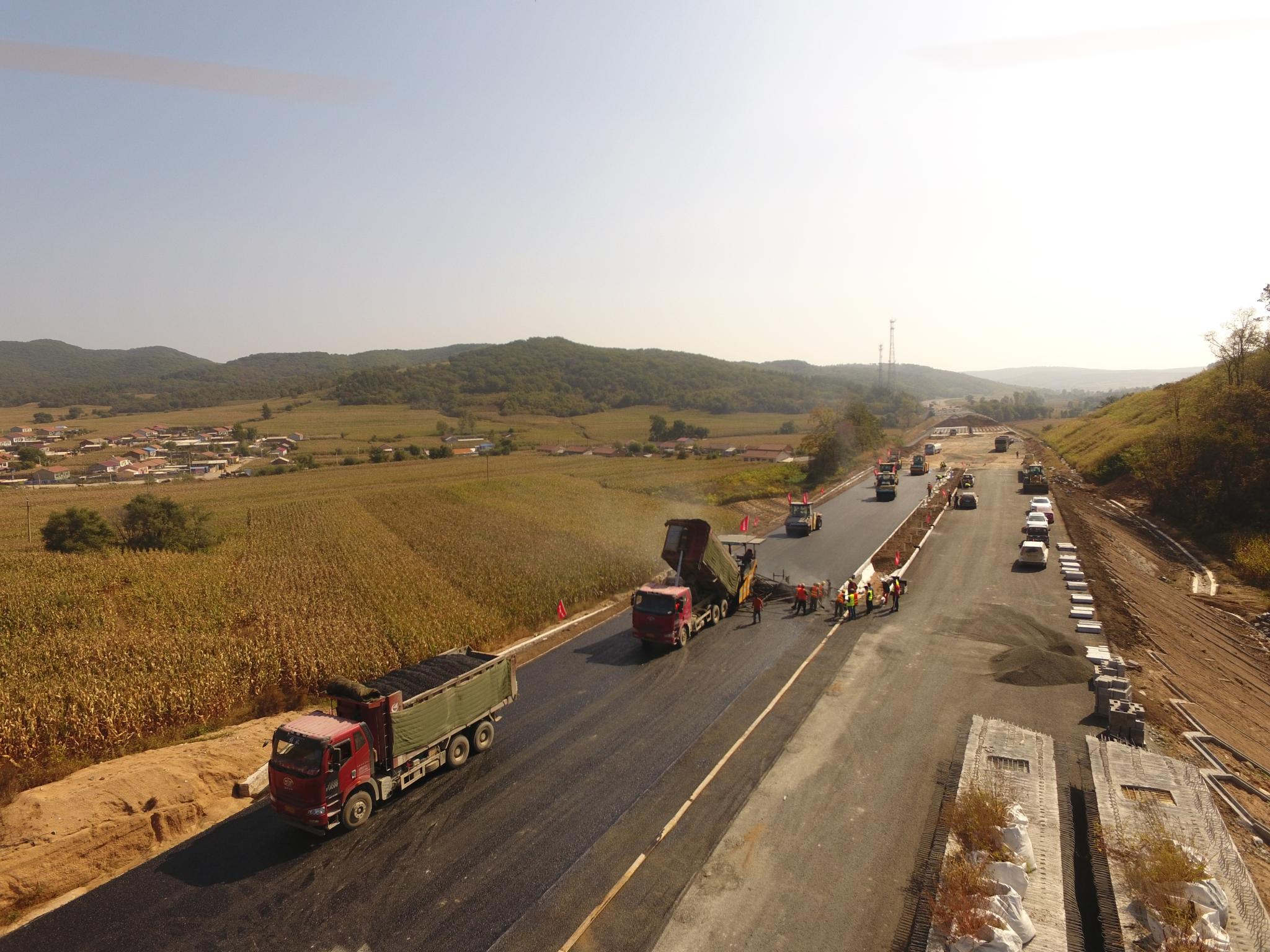 辽宁集双高速公路工程