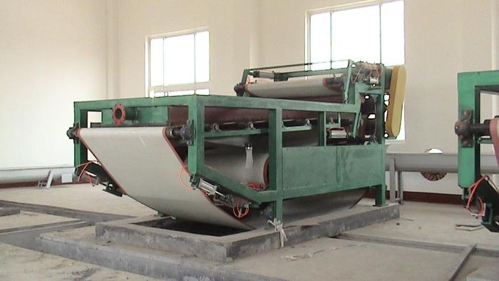 带式污泥脱水压滤机
