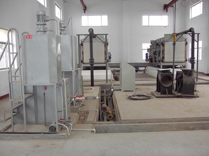 带式污泥压滤系统