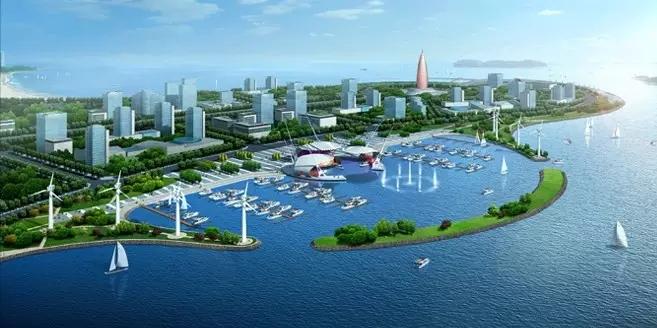 唐山湾月岛景区改造提升竣工 初现国际范儿
