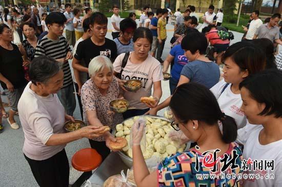 邢台:受灾群众转移安置有序进行