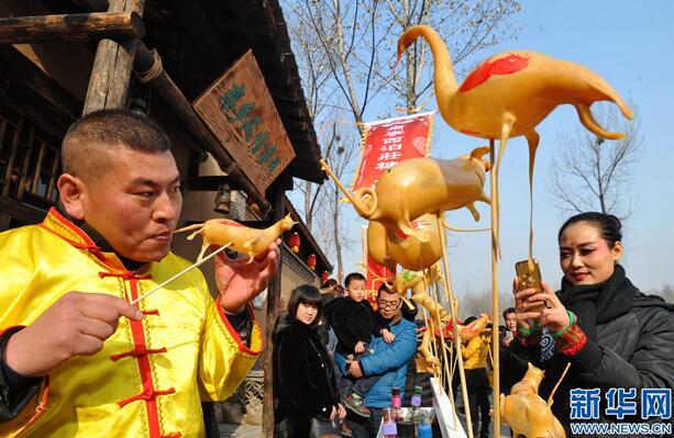 """肃宁:民俗文化""""闯""""景区""""趟""""新路"""