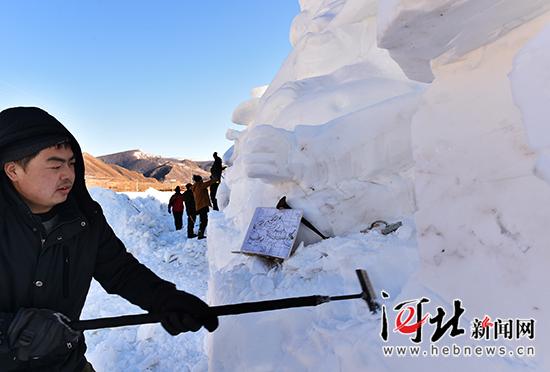 崇礼首届雪雕文化艺术节将于12月25日开幕